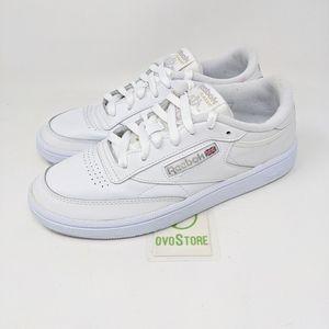 Reebok Women's Club C 85 sneakers white size 7.5